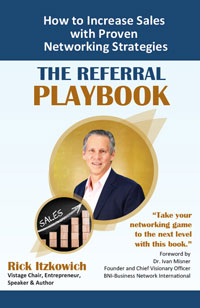 San Diego Author and Networking Expert Book Cover